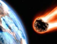 В России удалось снять на видео падающий метеорит