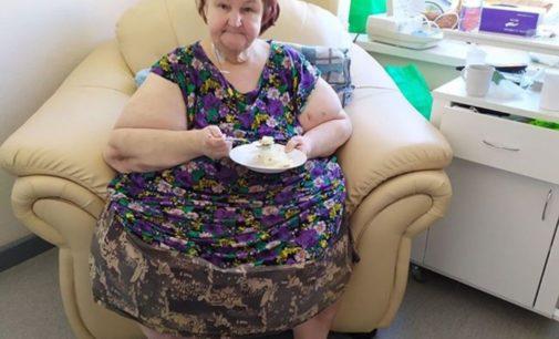 Пожилая россиянка за два месяца похудела на 192 килограмма