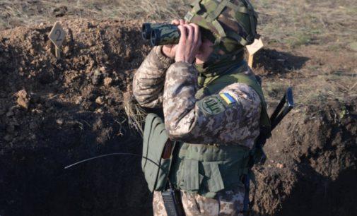 За день на Донбассе восемь раз нарушили режим «тишины» – штаб