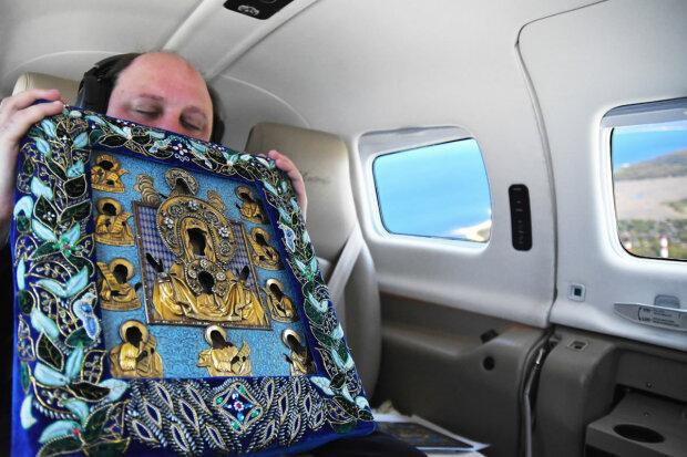 священник, полет, Нью-Йорк