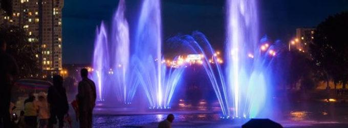 В конце мая на столичной Русановке начнут работать светомузыкальные фонтаны