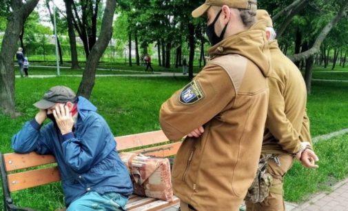 На Отрадном в Киеве в парке заметили пожилого извращенца
