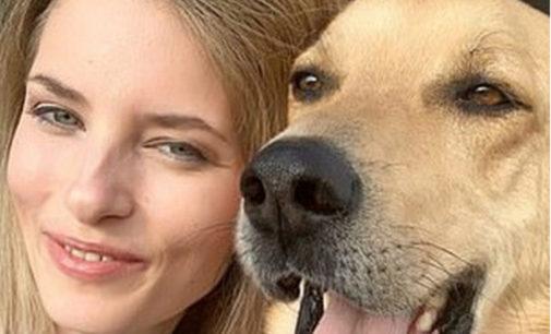 Польскую модель L'Oreal изуродовал пес, которого она взяла из приюта