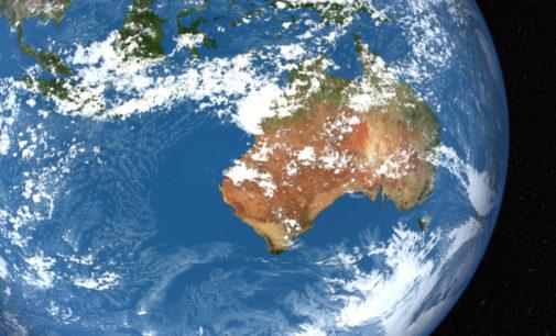 Тектоническая плита под Индийским океаном разваливается на две части