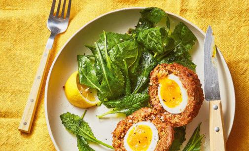 Английский завтрак: Яйца по-шотландски